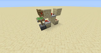 how to make a minecraft comparator
