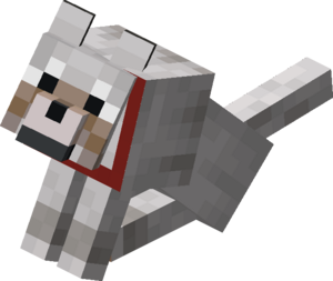 Image result for minecraft dogs