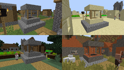 Image Result For Minecraft Build Village