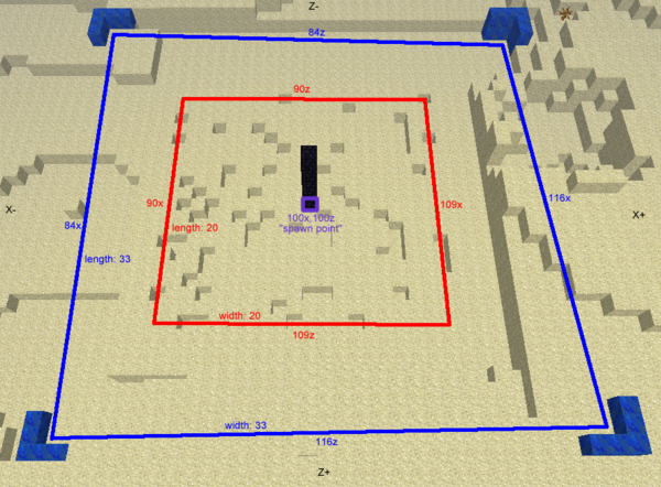 Spawn  Multiplayer Details  U2013 Official Minecraft Wiki