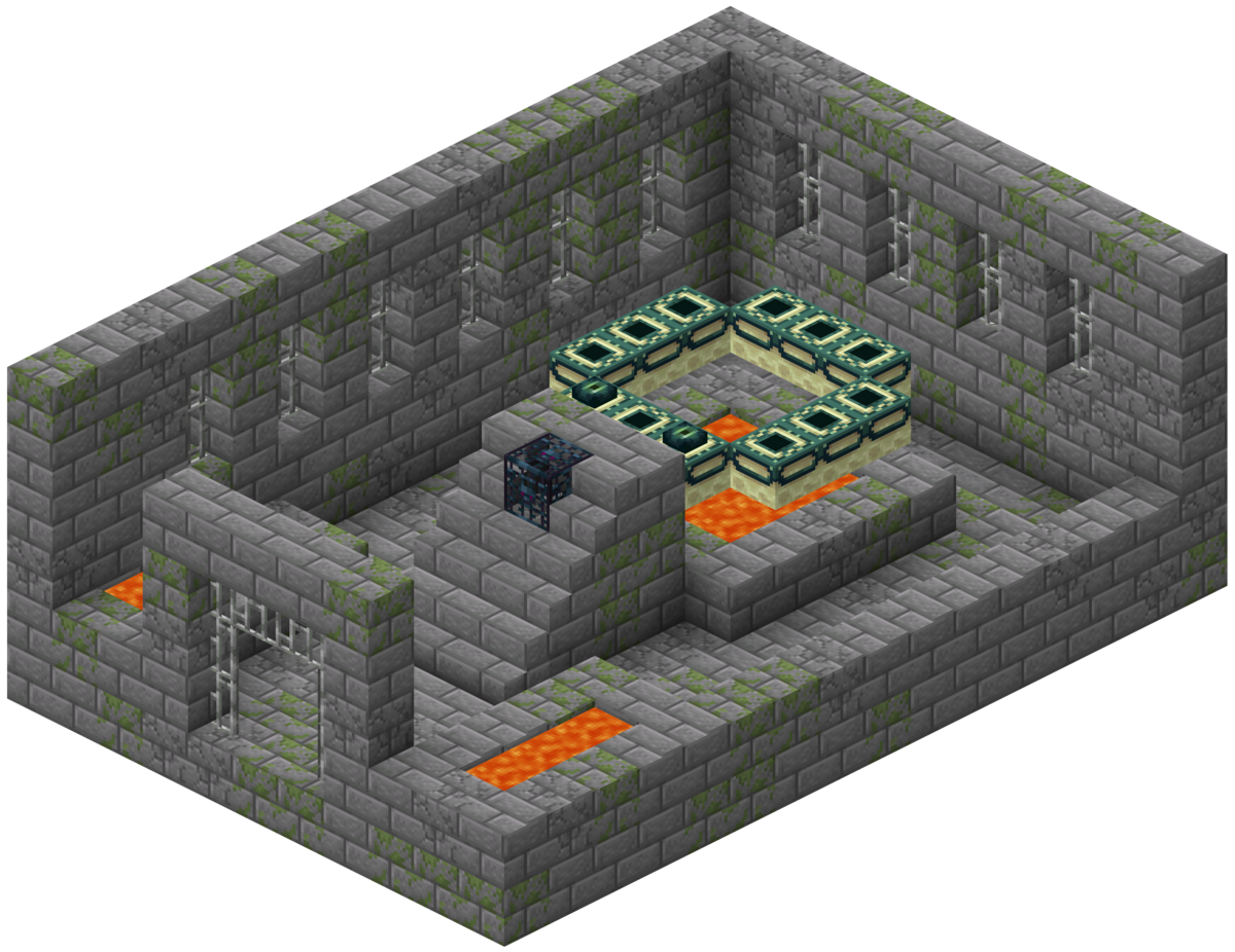 End Portal Room Design Minecraft