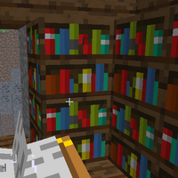 Enchantment Table  Official Minecraft Wiki - Enchantment table bookshelves