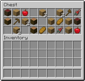 how to craft a chest in minecraft inventory official minecraft wiki 8106