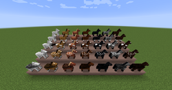 Image Result For Minecraft Horse With