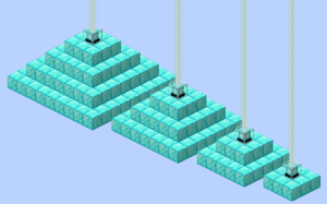 how to make a haste 2 beacon in minecraft