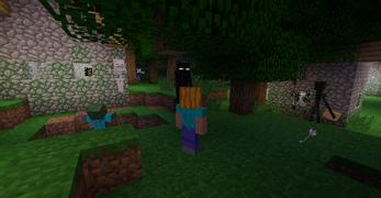 Странник Края — Minecraft Wiki Жемчуг Текстура