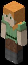 另一个在游戏中出现的默认玩家皮肤——Alex。