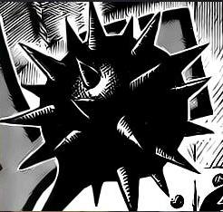 Minozebra Spike Mace Manga Difference