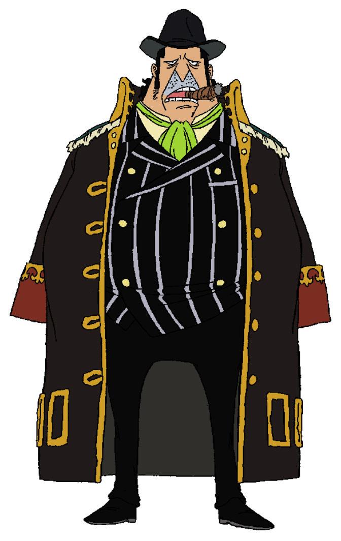 Capone Bege Anime Concept Art