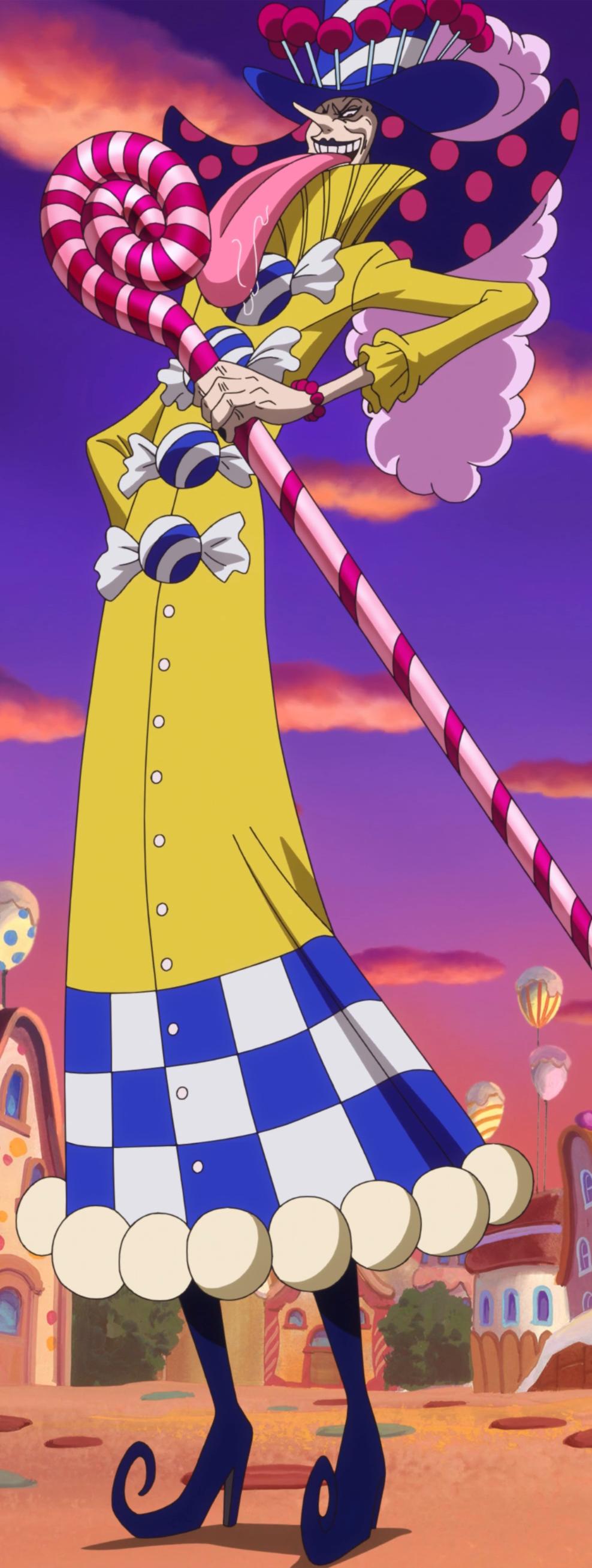Perospero Initial Anime Color Scheme