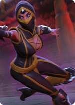 Gabriella Skull Ninja