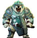 Armored Arctos Grizzly