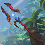 Grohk Weapon Toadstool Lightning Staff.png