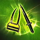 DaggerandClawDamage passive skill icon.png