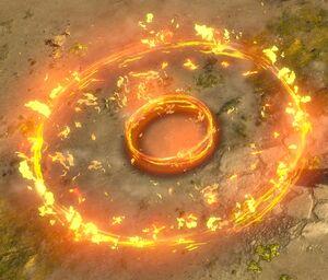 Fire Nova Mine skill screenshot.jpg