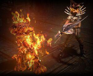 Summon Flame Golem skill screenshot.jpg