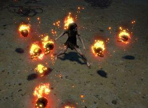 Summon Raging Spirit skill screenshot.jpg