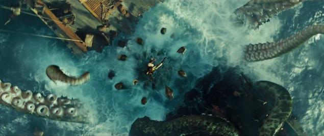 Image - Kraken attacks 11.png - Pirates of the Caribbean ...