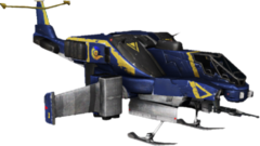 Render of the Reaver in PlanetSide 2