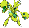 Shiny_scizor_dream_world_art_by_trainerparshen-d6ikcom.png