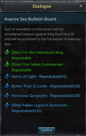 Daily Quests - Avarice Sea - Main.png