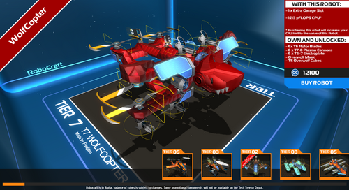 OverWolf Mask - Official Robocraft Wiki