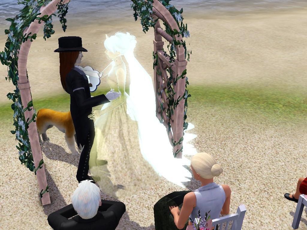 Vampire Marries a Ghost