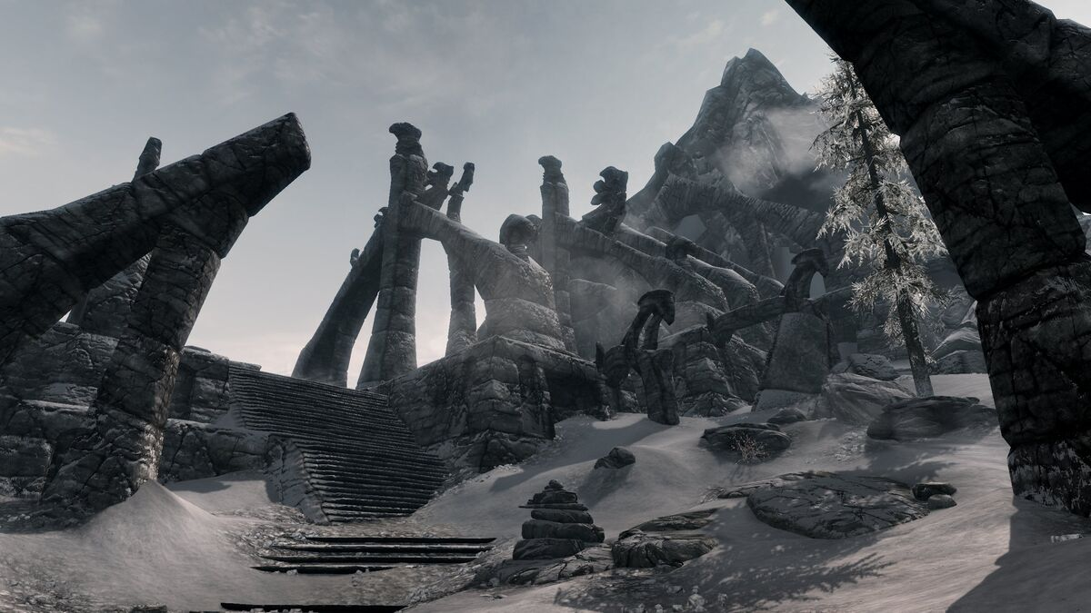 Bleak Falls Barrow Can T Activate Rings