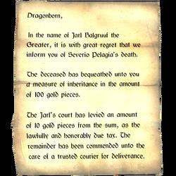 Inheritance  Letters
