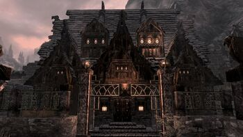 Shield House house of clan shatter-shield - skyrim wiki