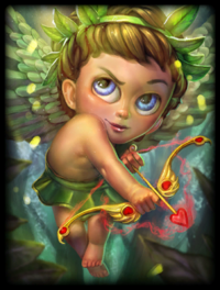 Forest Nymph Cupid