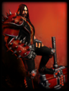 Original Heavy Metal Skin card
