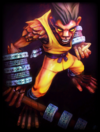 Original Shaolin Monk-ey Skin card