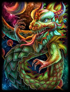 Sacred Dragon Skin card
