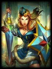 Winter Olympian Athena