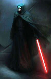 Concept art for Darth Nihilus.