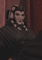 Kreia at the time of her second betrayal.