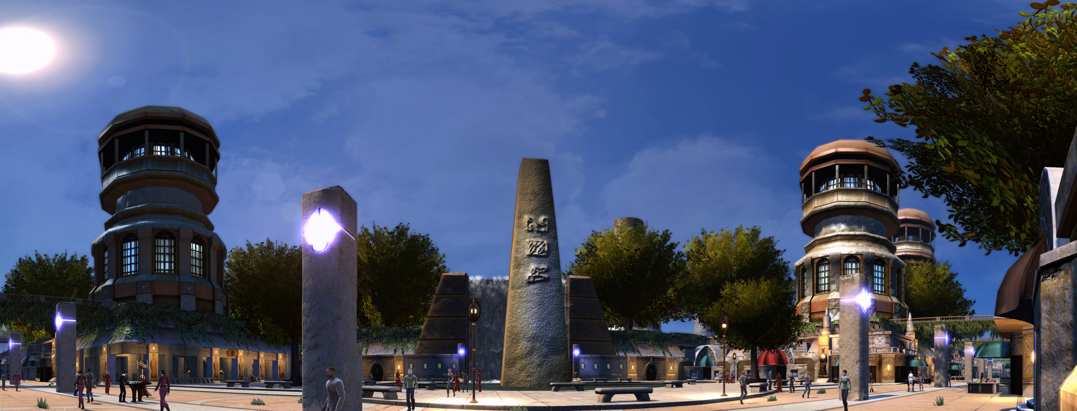 Hathon-central square-panorama.png