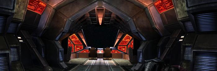 Federation shuttle interior