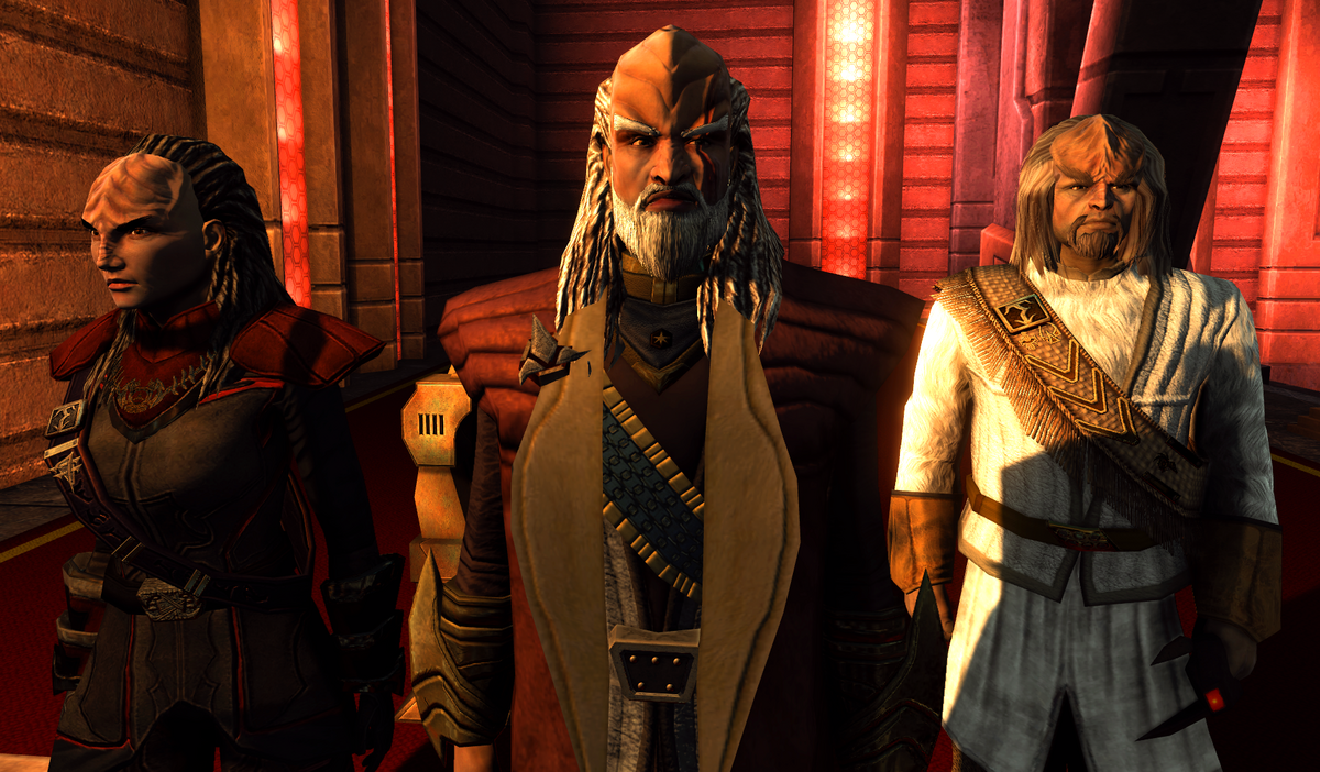 Klingon Bird Of Prey Tos Klingon Empire -...