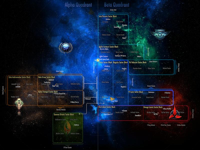 Sector space  Official Star Trek Online Wiki