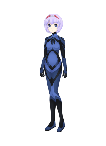 See - I'm not a loli! You can clearly see the outline of my breasts in this suit!