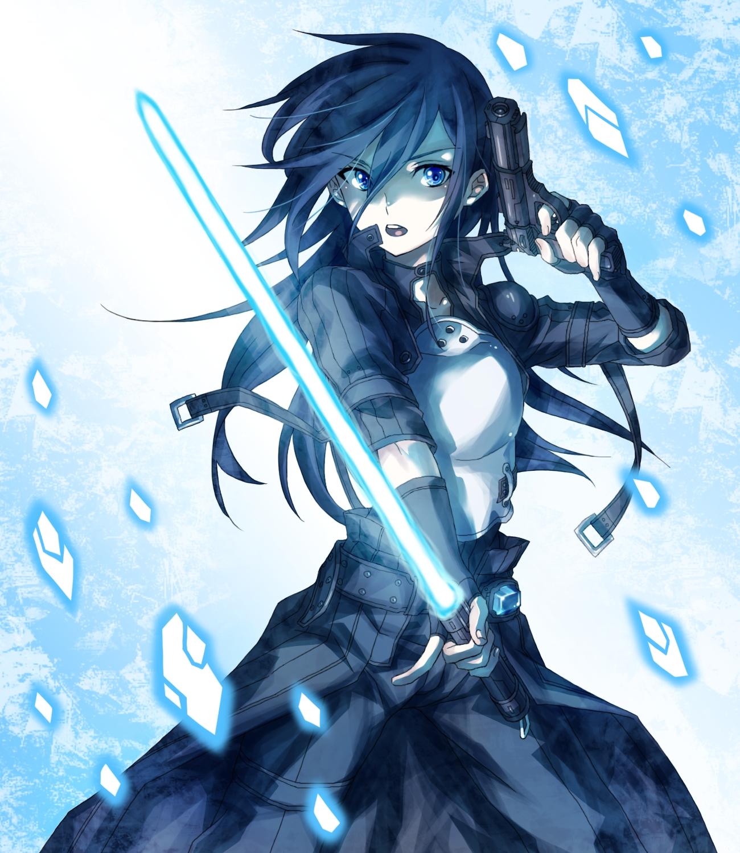 Image - Kirito (GunGameOnline form).png - Sword Art Online ...