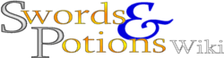 Swords and Potions Wiki Wordmark