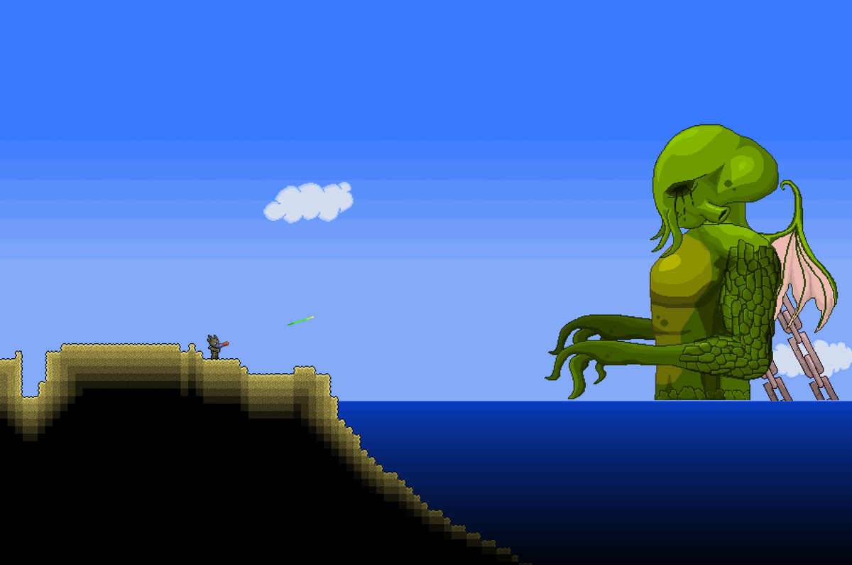 Terraria What To Do After Getting To Sky Islands