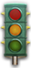 Computer-controlled traffic lights