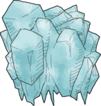 A Ice Crystal found in the Living Infinite