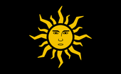 Flaga Cesarstwa Nilfgaardu