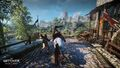 Tw3 e3 2014 screenshot - Geralt fighting on horseback.jpg