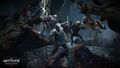 Tw3 e3 2014 screenshot - Witcher Vesemir fighting monsters.jpg